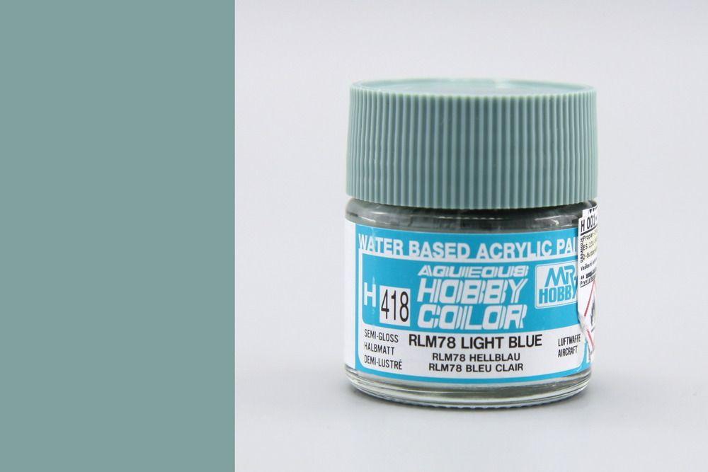 Mr Hobby Aqueous Color - Light Blue RLM78
