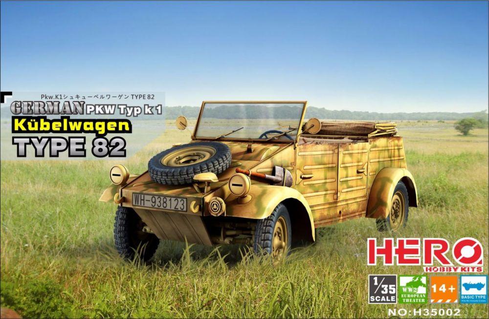 Hero Hobby Kubelwagen Type82 Basic Type