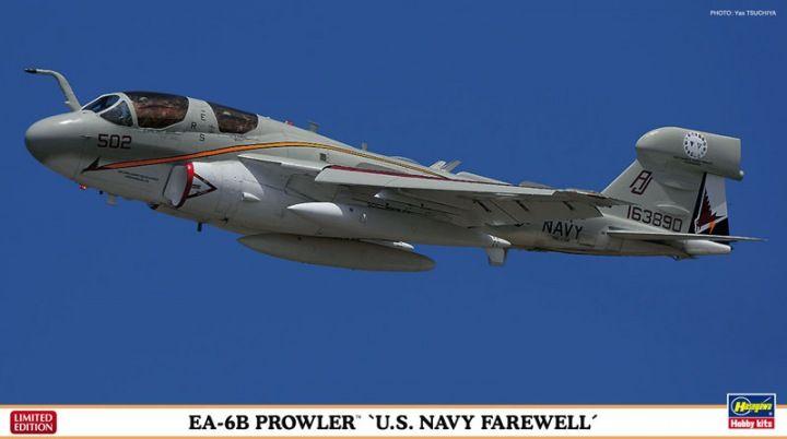 Hasegawa EA-6B Prowler U.S.NAVY Farewell