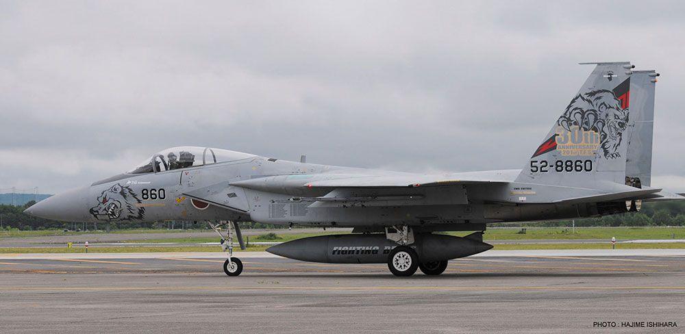 Hasegawa F-15J/DJ Eagle 201st Squadron 30th Anniversary