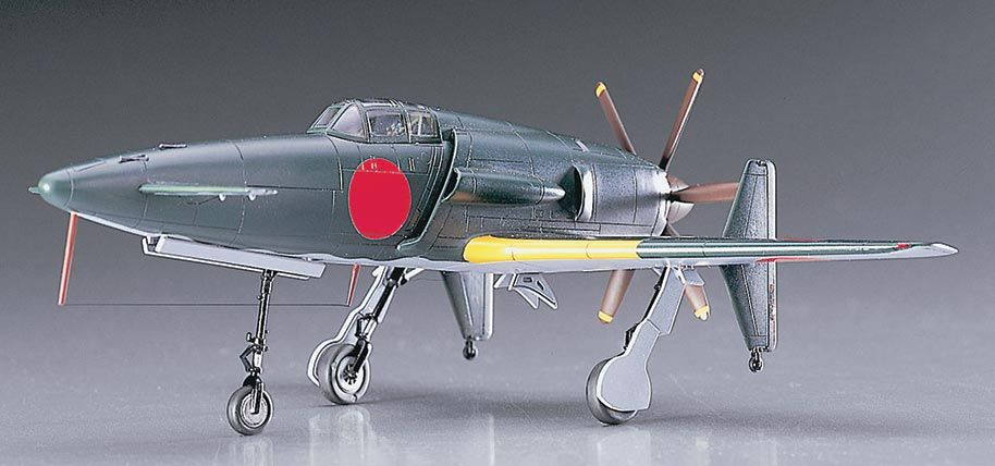 Hasegawa Kyushu J7W1 18-Shi Interceptor Fighter Shin
