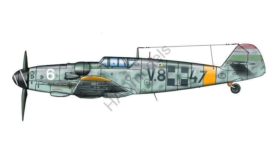 HAD Messerschmitt Bf 109 G-6