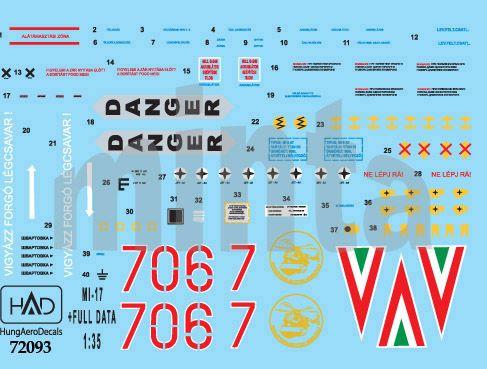 HAD Mi-17 (Hungarian 706, 707)