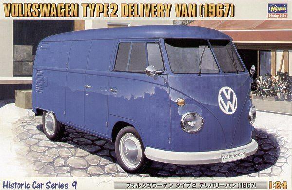 Hasegawa Volkswagen Type 2 Delivery Van 1967