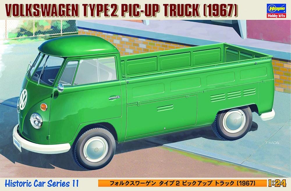 Hasegawa Volkswagen Type 2 Pick Up Truck 1967