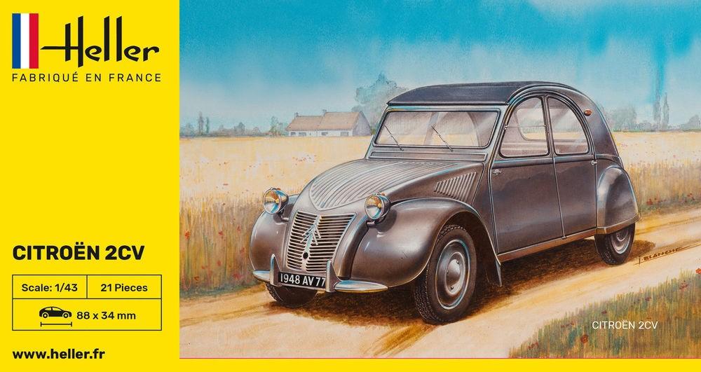 Heller Citroën 2 CV Ente