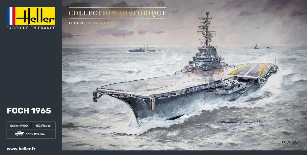 Heller Flugzeugträger Foch