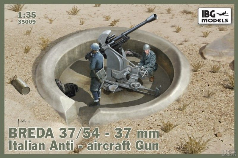 IBG Breda 37/54 anti-aircraft gun