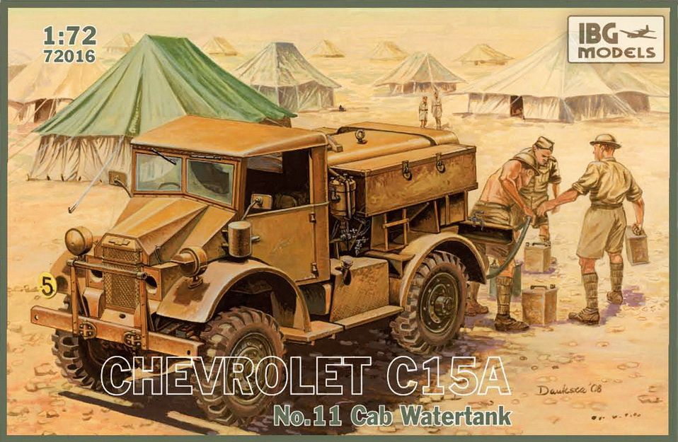 IBG Chevrolet C15A No.11 Cab Watertank