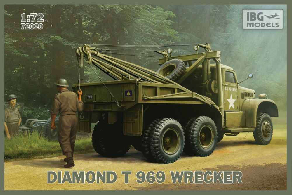 IBG DIAMOND T 969 Wrecker