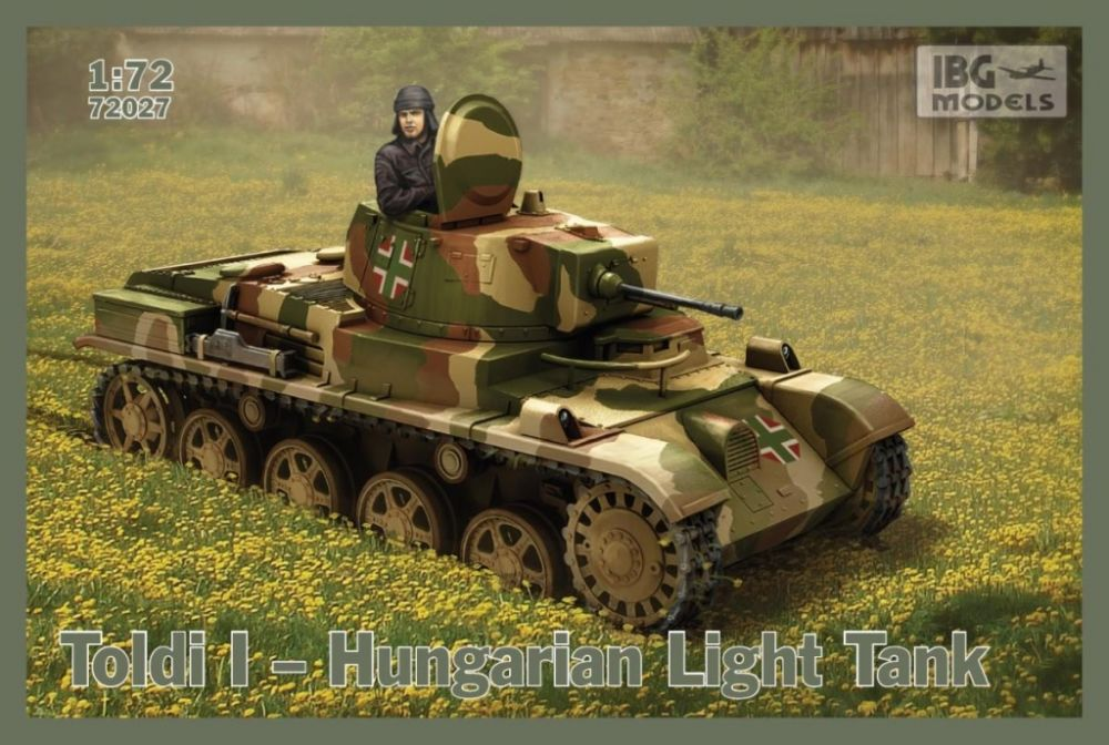 IBG Toldi I - Hungarian Light Tank