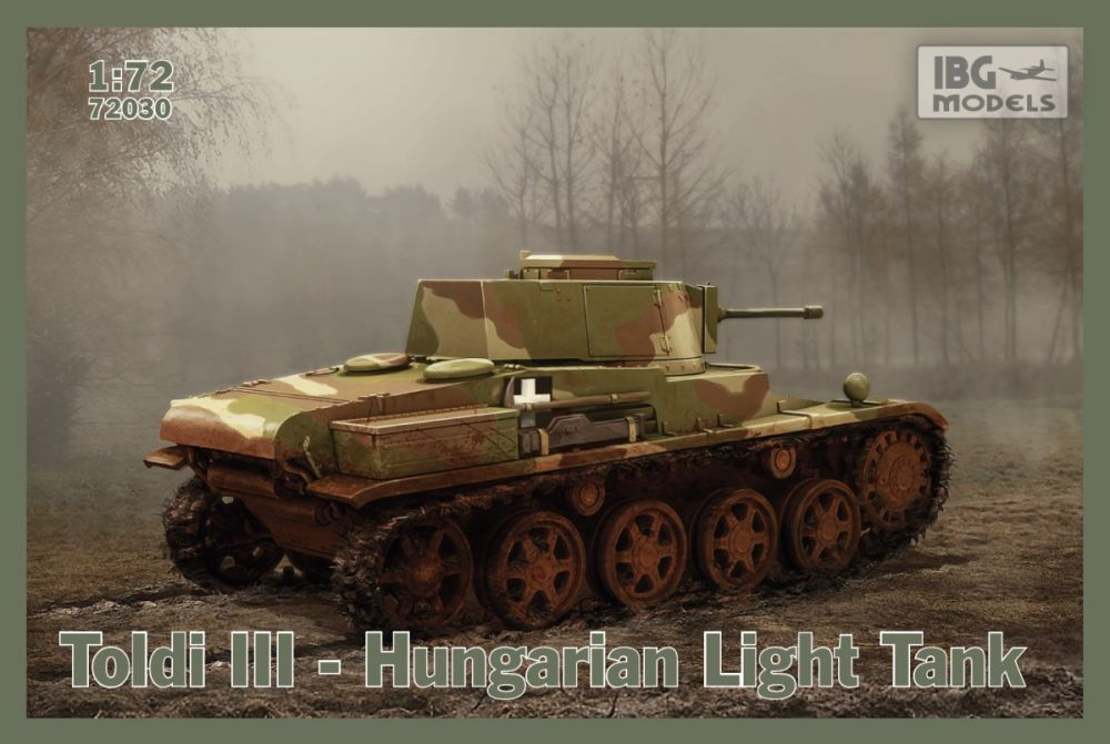 IBG Toldi III - Hungarian Light Tank