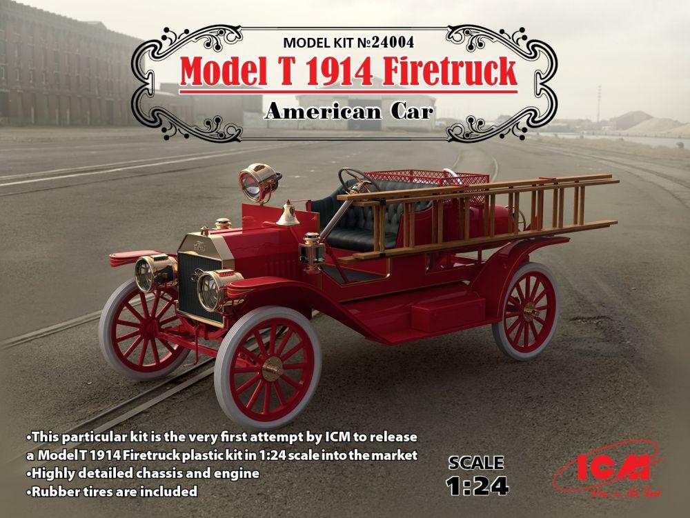 ICM Model T 1914 Firetruck