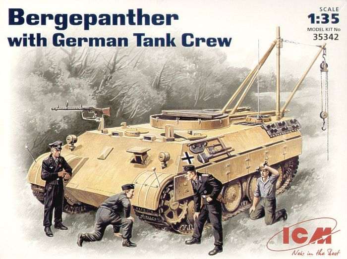 ICM Bergepanther with German Tank Crew