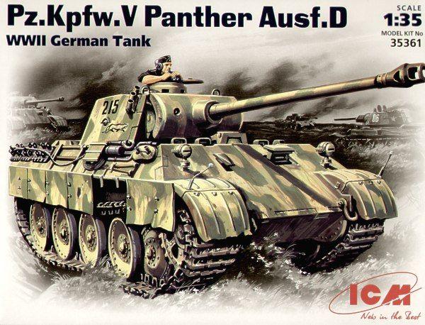 ICM Pz.Kpfw.V Panther Ausf.D