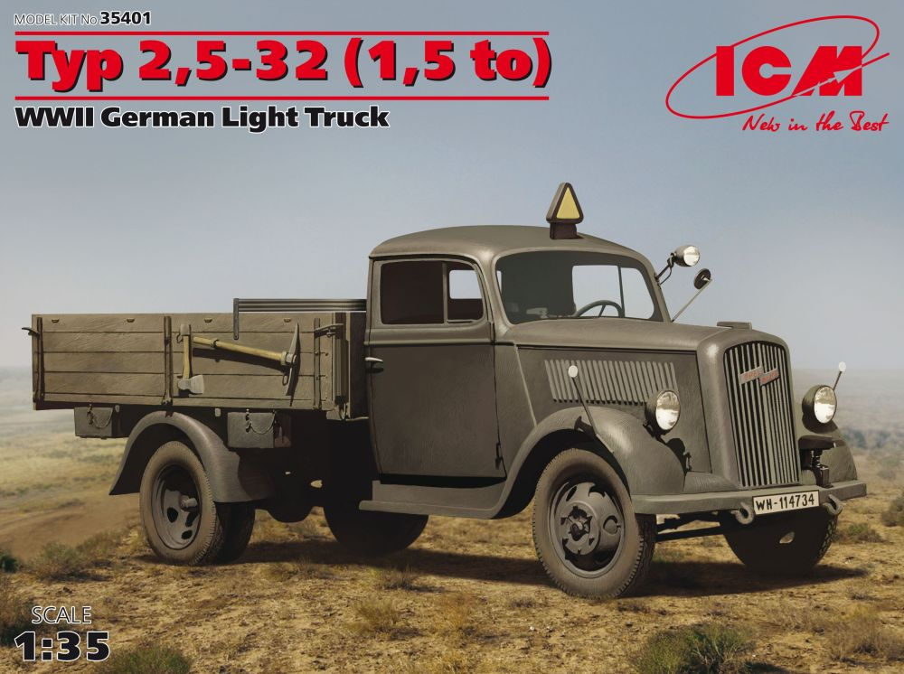 ICM Typ 2,5-32 (1,5 to) German Light Truck