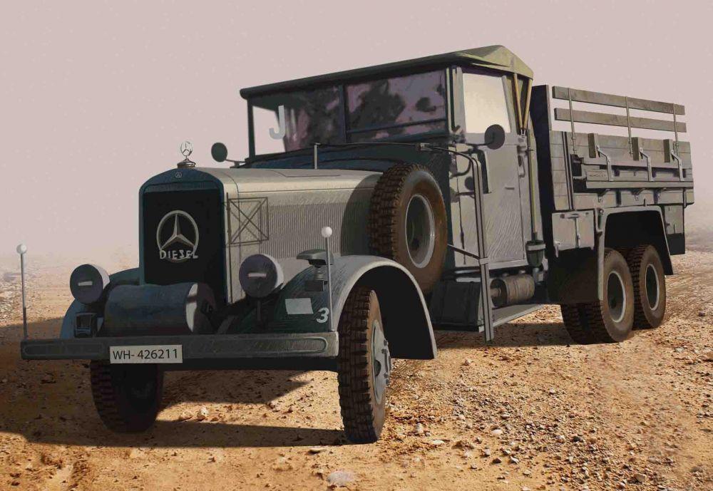 ICM Typ LG3000 German Army truck