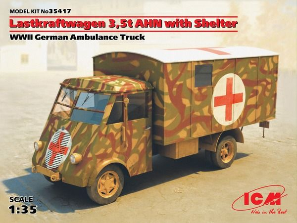 ICM Lastkraftwagen 3.5t ANH with Shelter
