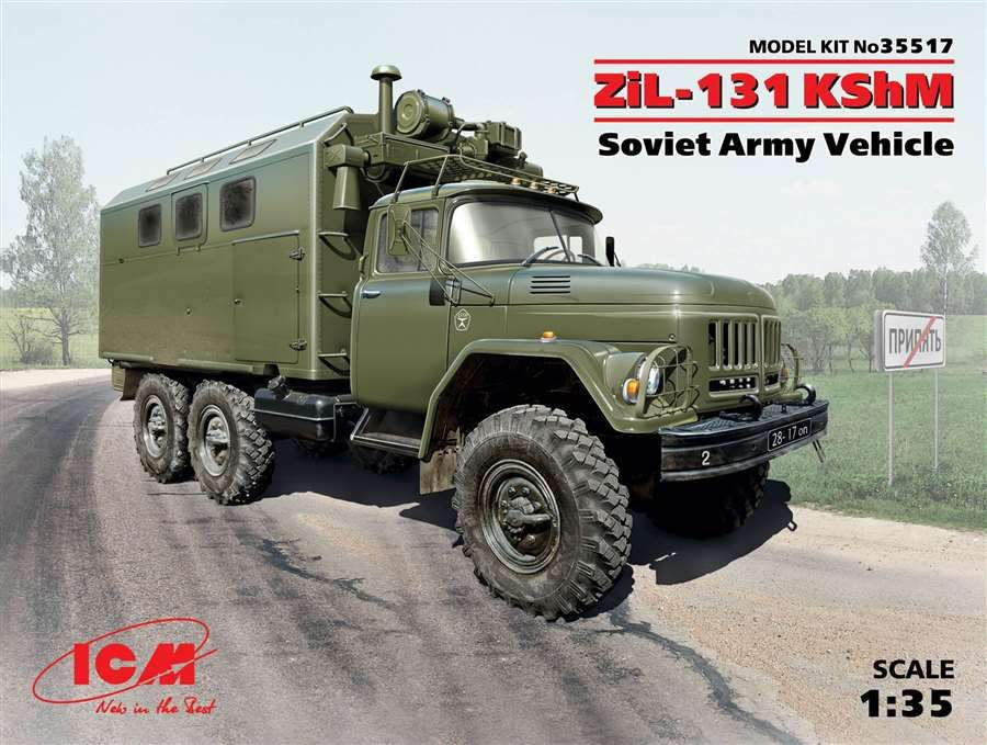 ICM ZiL-131 KShM Soviet Army Vehicle