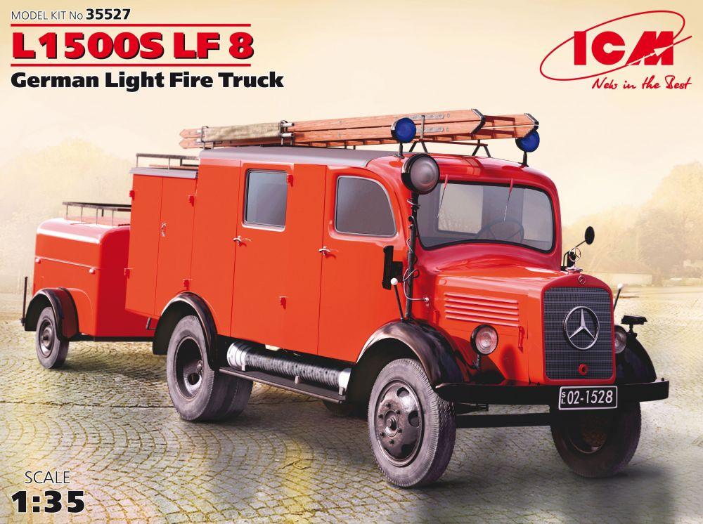 ICM L1500S LF 8, German Light Fire Truck