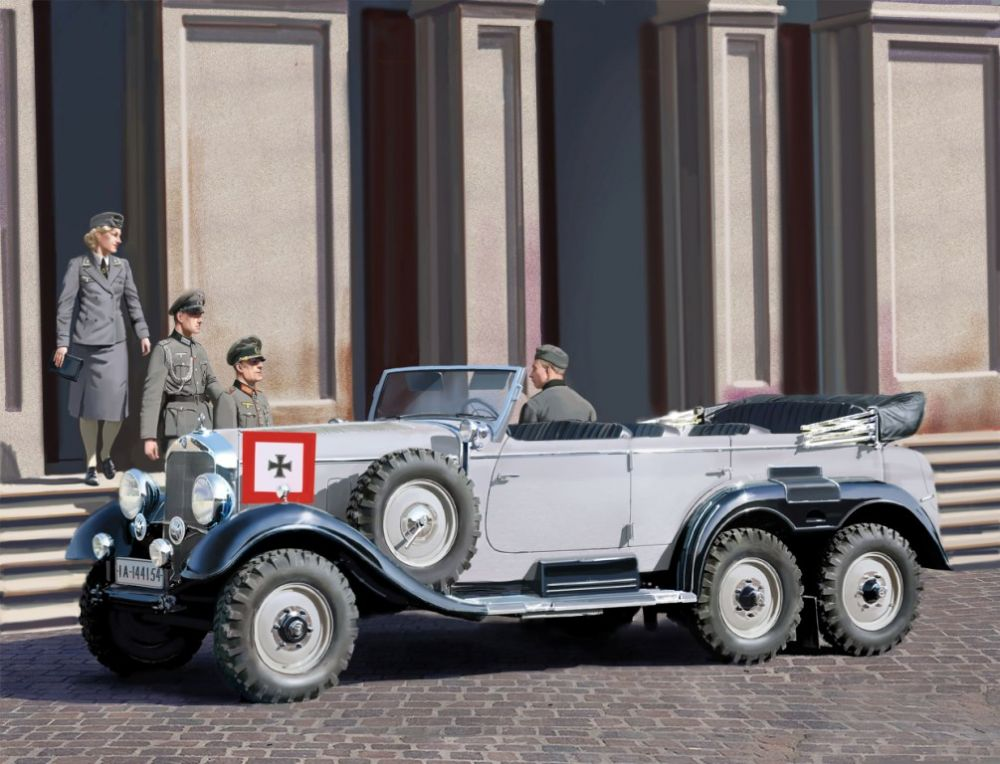 ICM G4 (1939 production), German Car with Passengers