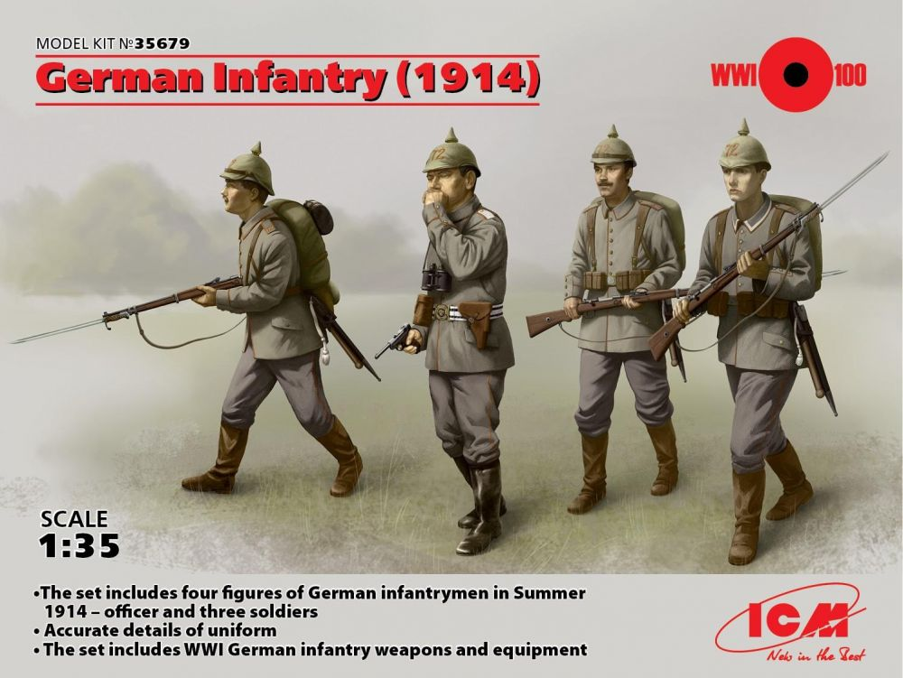 ICM German Infantry 1914