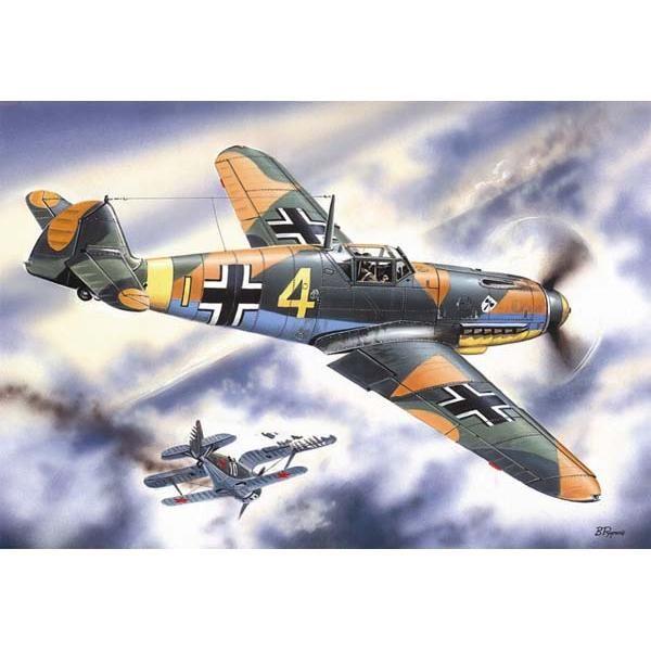 ICM Messerschmitt Bf 109F-4
