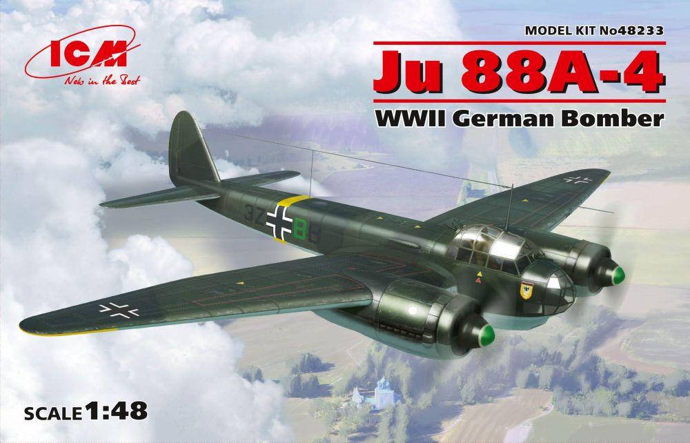 ICM Ju 88A-4 WWII German Bomber