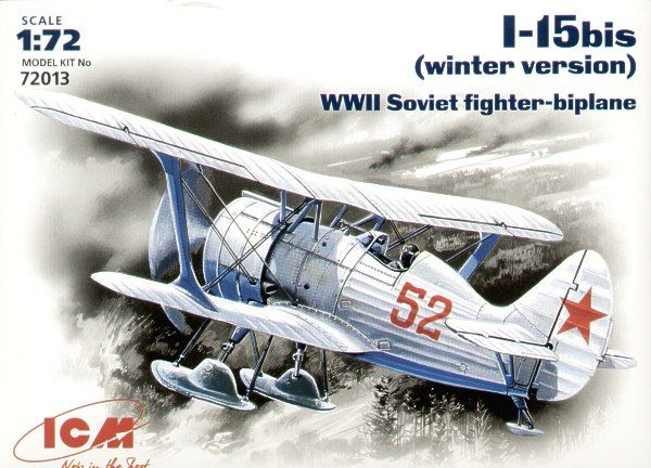 ICM Polikarpov I-15bis with skis