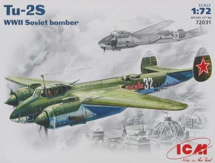 ICM Tupolev Tu-2 WWII Soviet Bomber