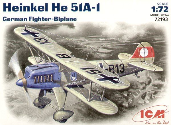 ICM Heinkel He 51A-1