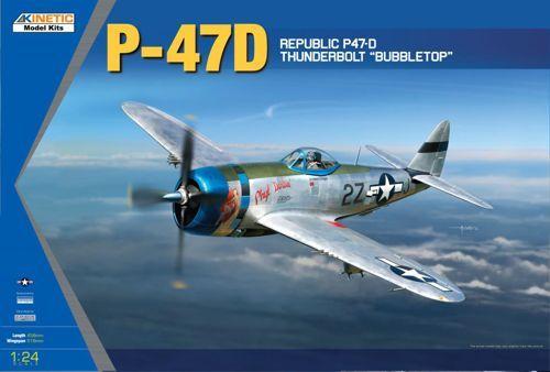 Kinetic P-47D Thunderbolt Bubble Top