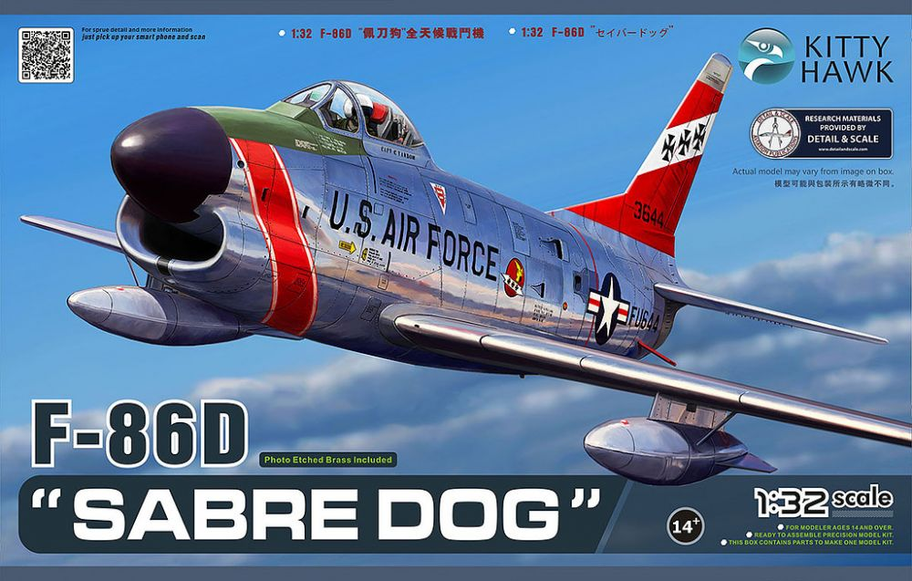 Kitty Hawk F-86D 'Sabre Dog'