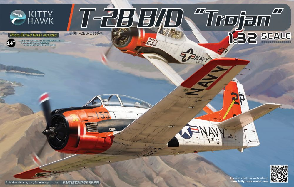 Kitty Hawk North-American T-28B/D Trojan