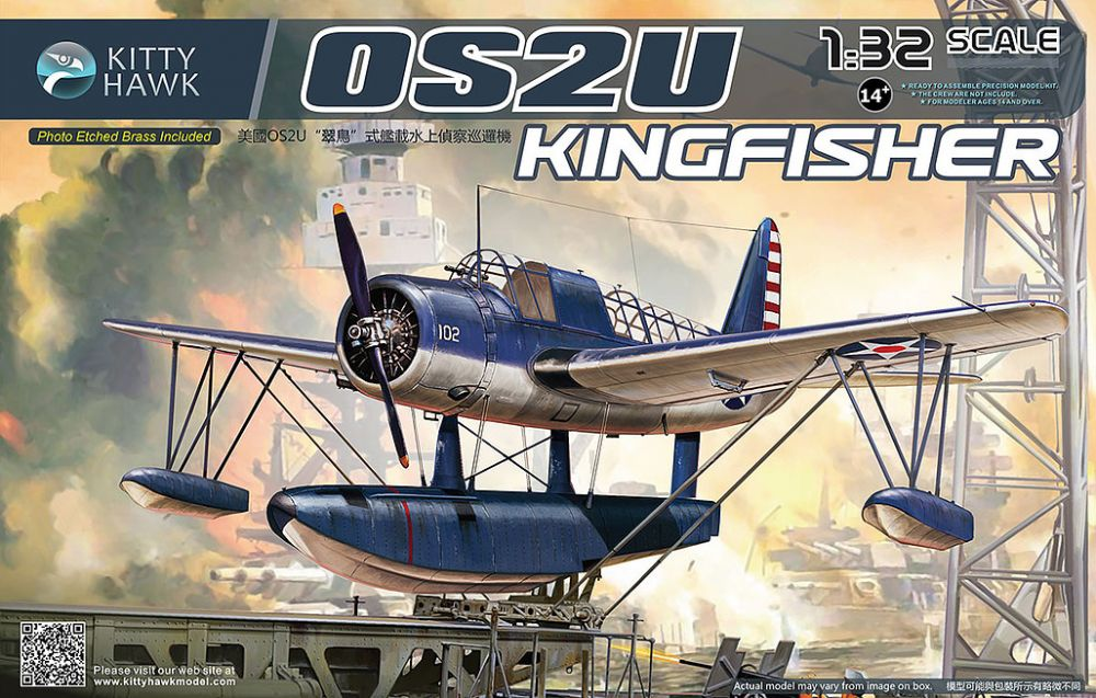 Kitty Hawk Vought OS2U Kingfisher