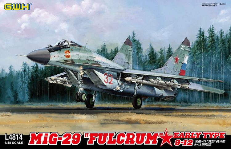 "Great Wall Hobby Mikoyan MiG-29 9-12 ""Fulcrum"" Early Type"