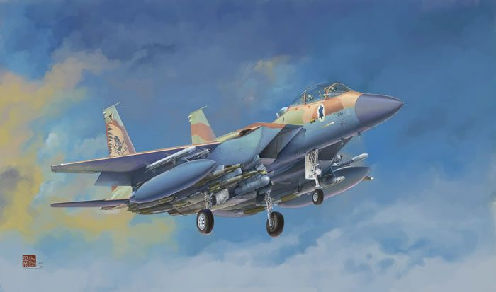 Great Wall Hobby McDonnell F-15I Ra'am, Israel Air