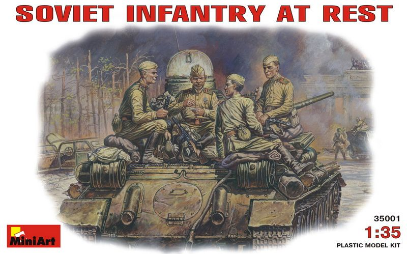 MiniArt Soviet Infantry at Rest