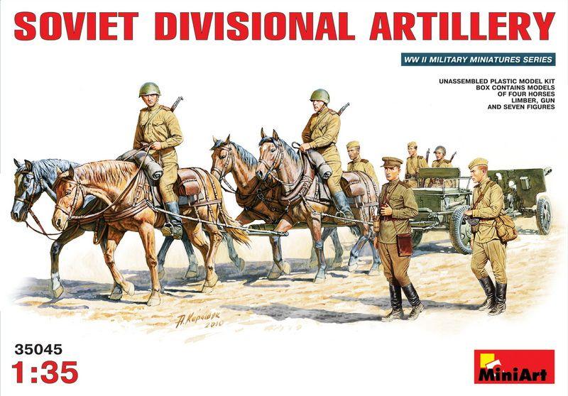 MiniArt Soviet Divisional Artillery