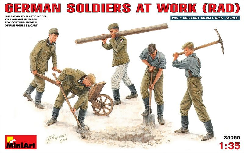 MiniArt German Soldiers at Work