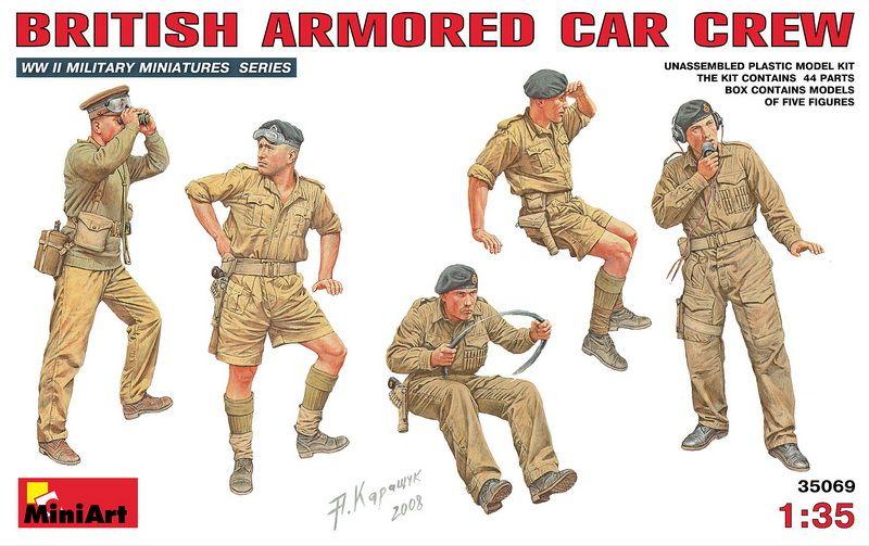 MiniArt British Amroured Car Crew