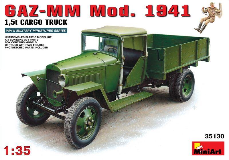 MiniArt GAZ-MM Mod. 1941 Cargo Truck