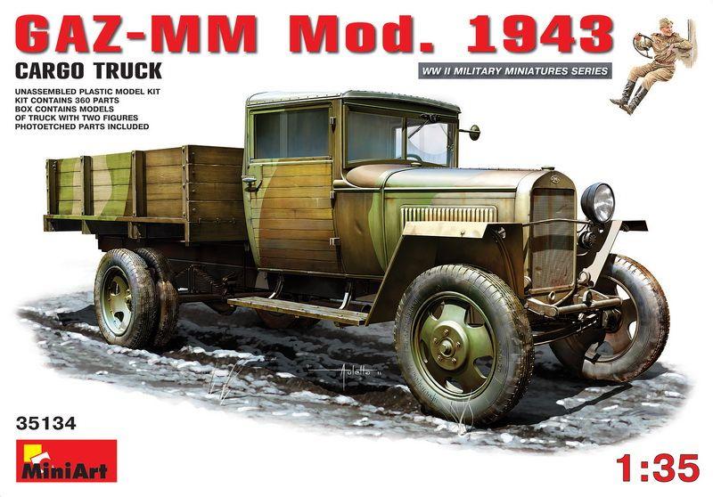 MiniArt GAZ-MM.Mod. 1943. Cargo Truck