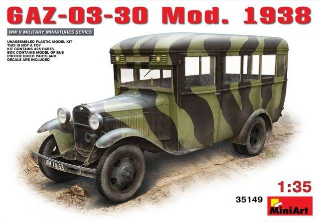 MiniArt GAZ-03-30 Mod.1938