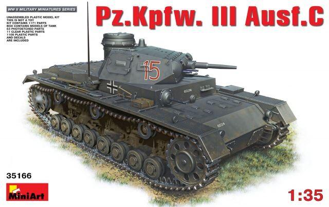 MiniArt Pz.Kpfw.3 Ausf.C