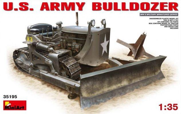 MiniArt U.S. Army Bulldozer