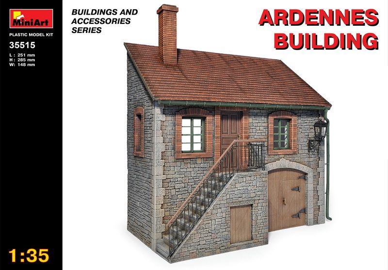 MiniArt Ardennes Building
