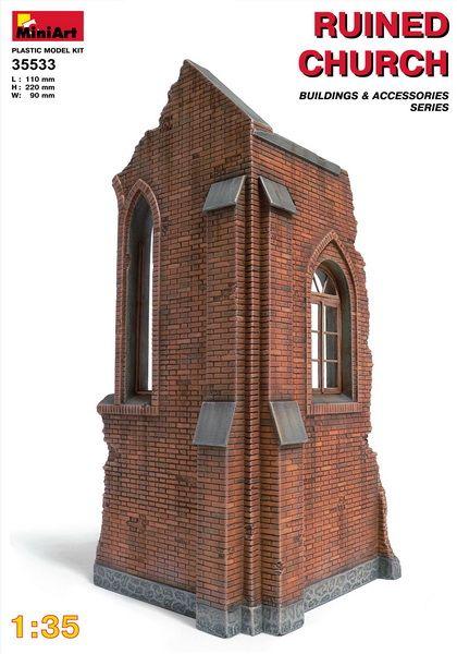MiniArt Ruined Church