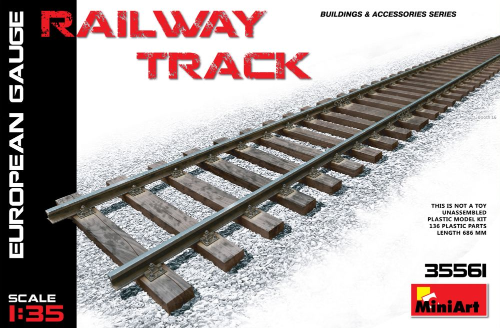 MiniArt Railway Track (European Gauge)