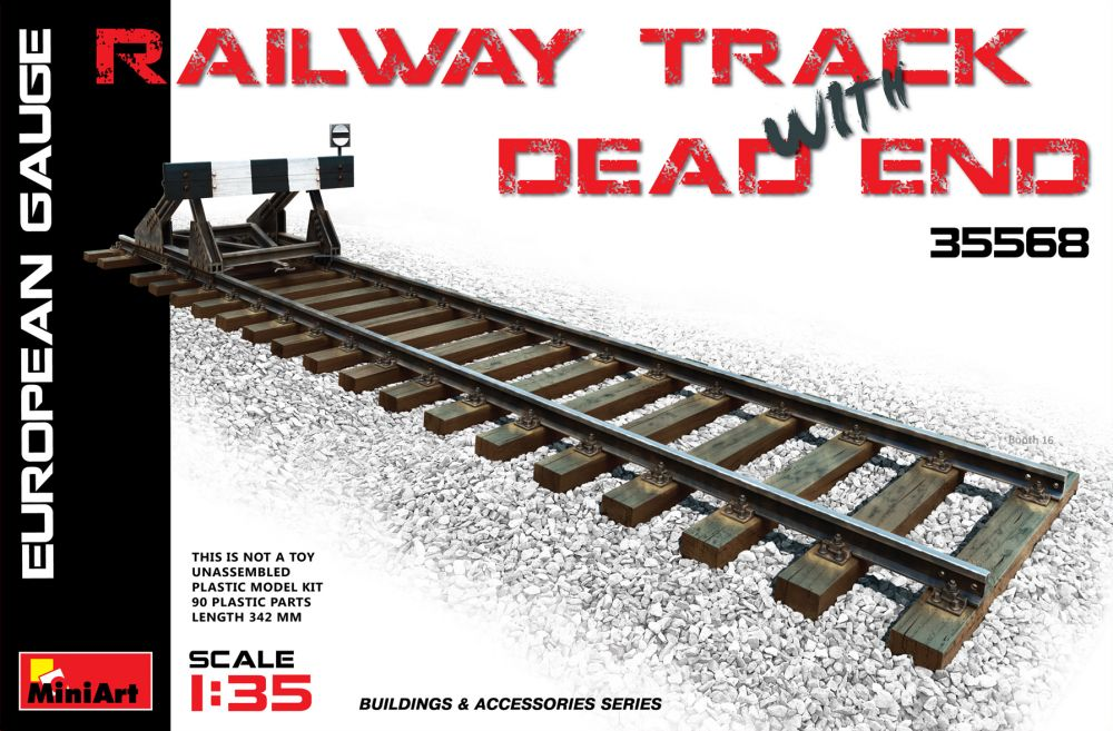 MiniArt Railway Track & Dead End(European Gauge)